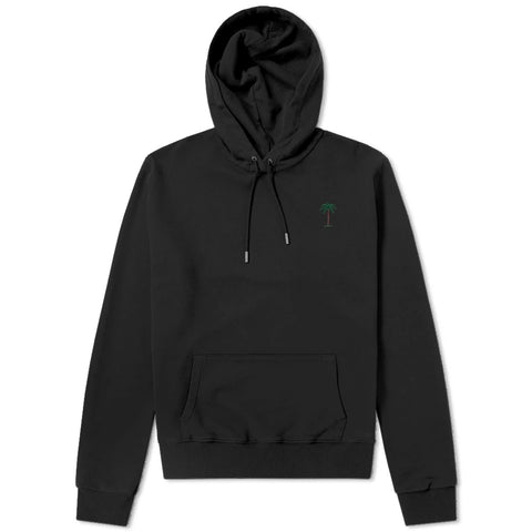 On Vacation Palms Hoodie Black