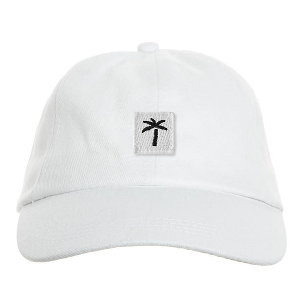 Palms Patch Cap - White