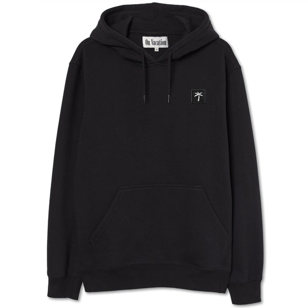 Palms Patch Hoodie - Black