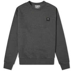 Palms Patch Sweater - Dark-Grey