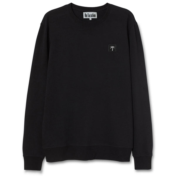 Palms Patch Sweater - Black
