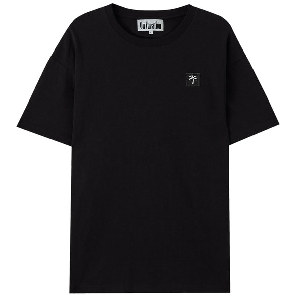 Palms Patch T-Shirt - Black