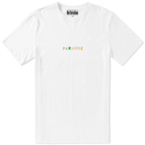 Paradise Color T-Shirt White