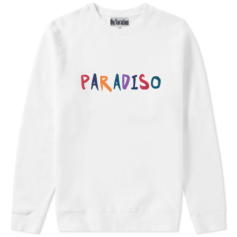 Paradiso Sweater White