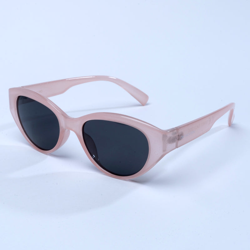 Retro Cat Eye Sunglasses - Blushed Pink