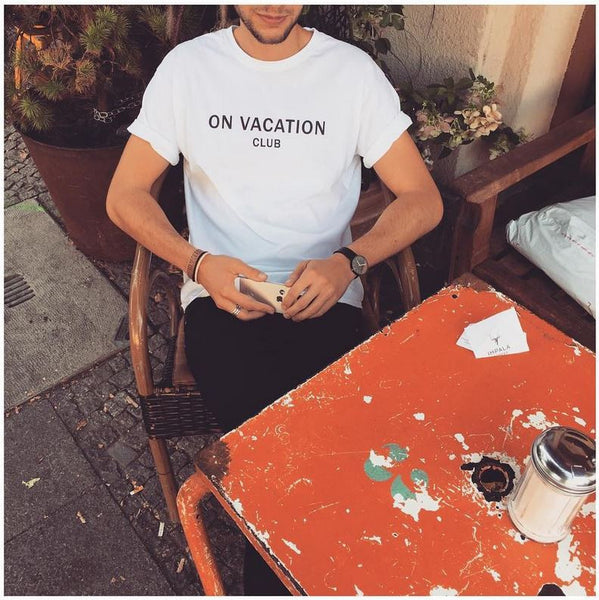 On Vacation Club T-Shirt