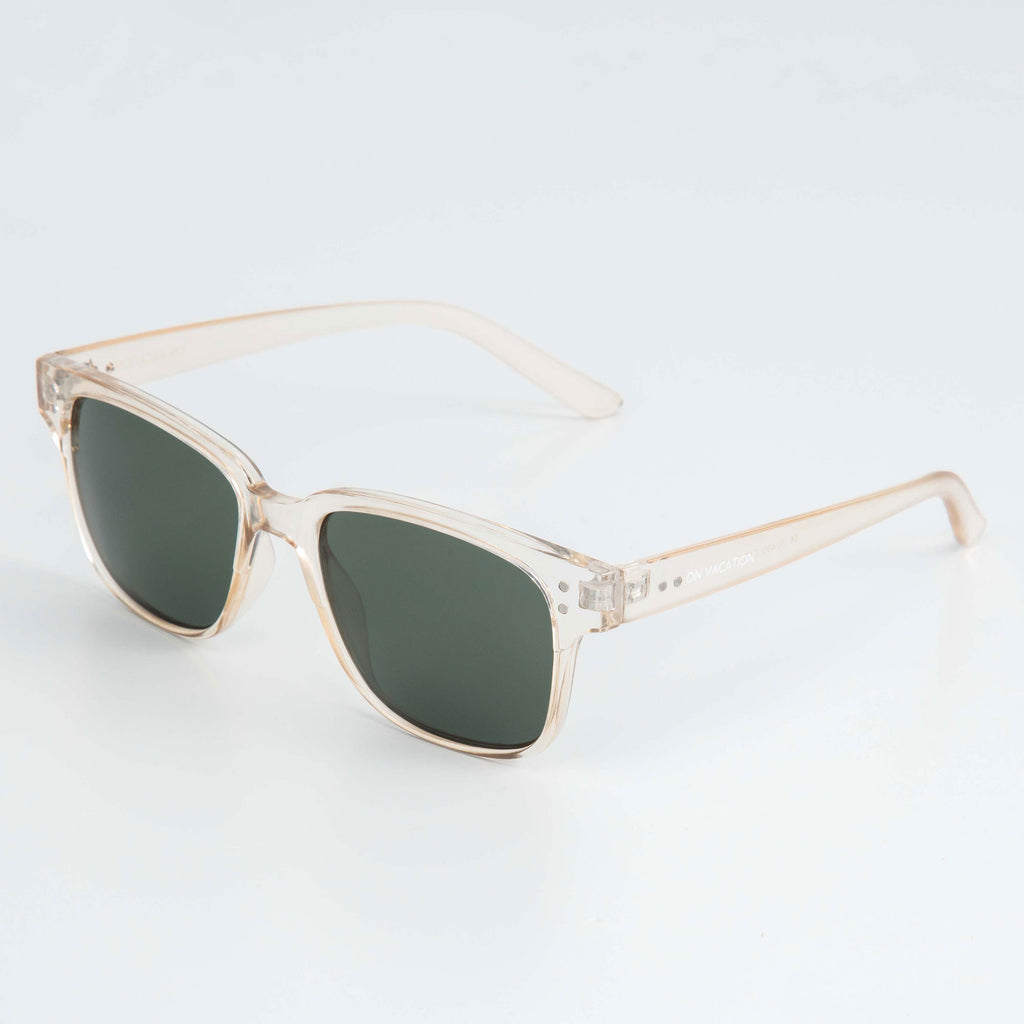 Clear Square Sunglasses