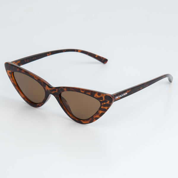 Brown Cat Eye Sunglasses