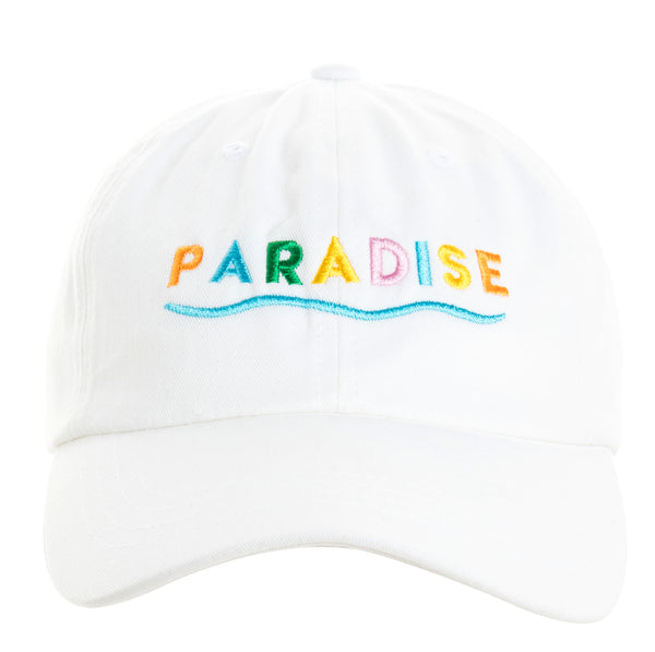 Paradise Color Cap White
