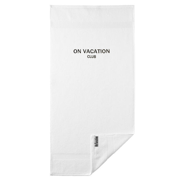On Vacation Club Towel White