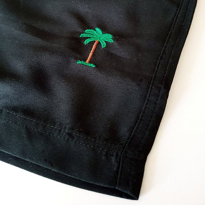 On Vacation Palms Swim Shorts