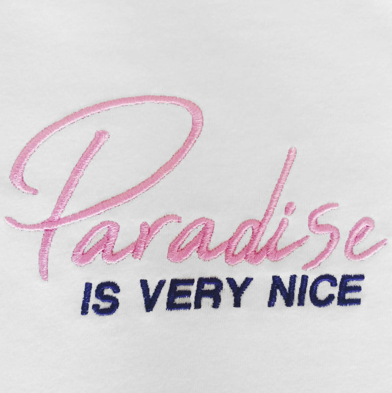Paradise Is Very Nice T-Shirt White