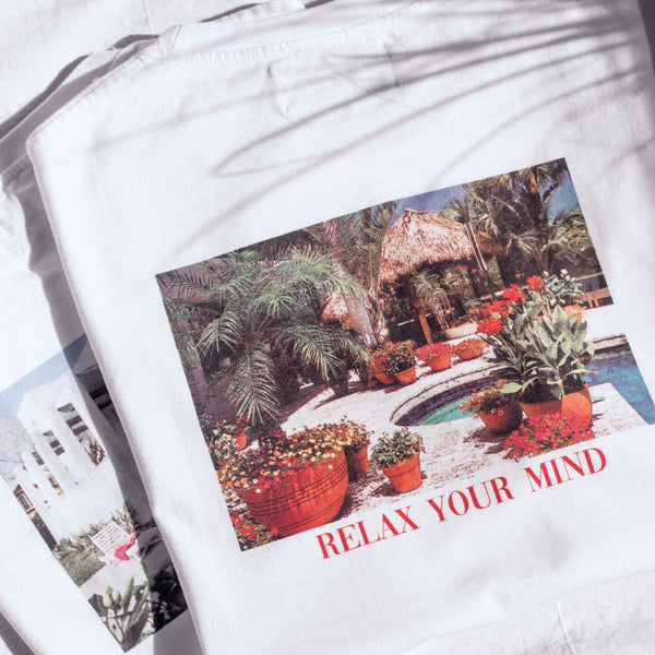Relax Your Mind T-Shirt - Garden