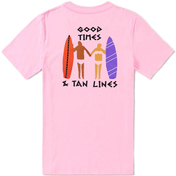 Tan Lines T-Shirt - Candy