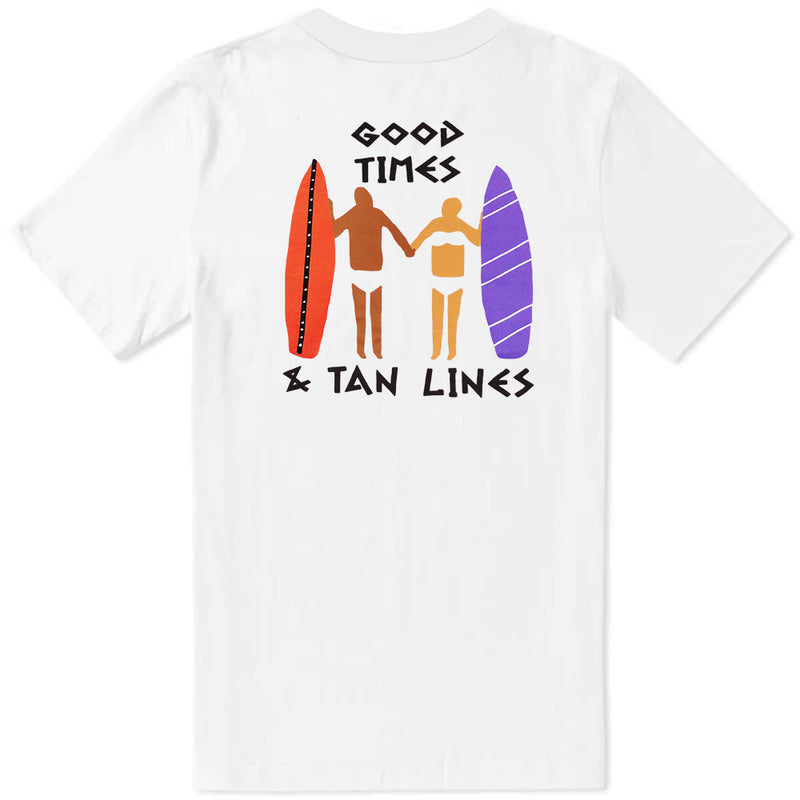 Tan Lines T-Shirt - White