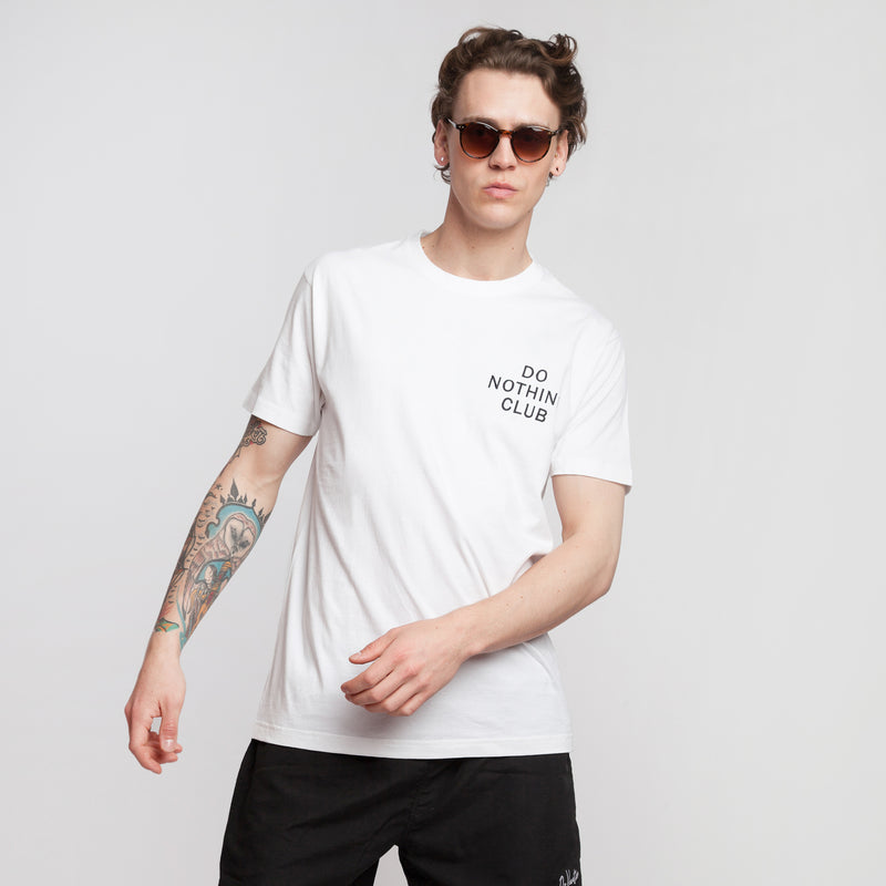 Do Nothing Club T-Shirt White