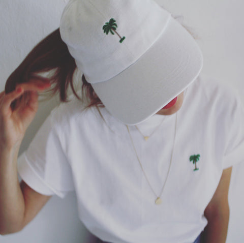 Palms Cap White