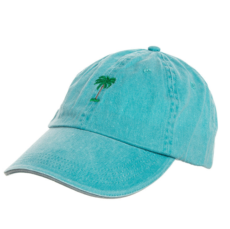 Palms Cap Washed Blue