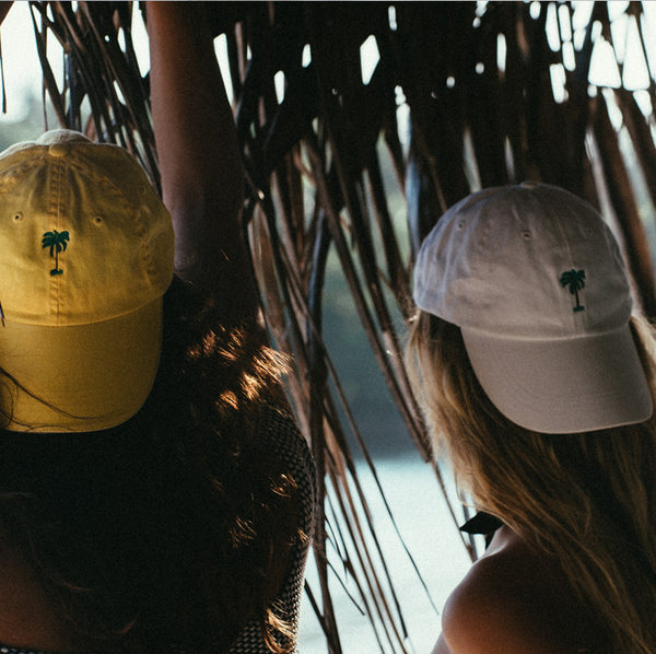 On Vacation Palms Cap White