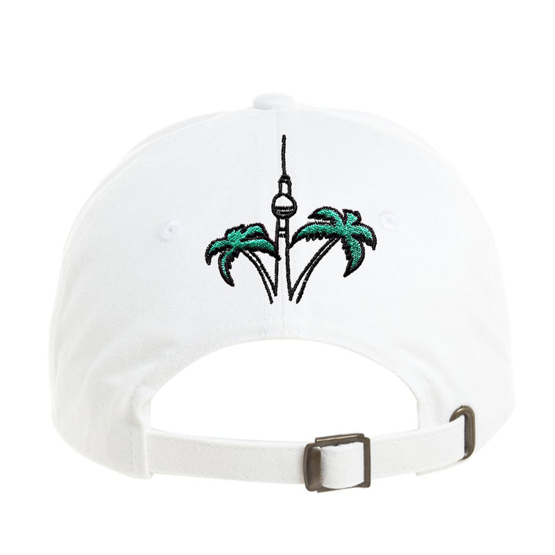 Berlin Travel Club Cap White