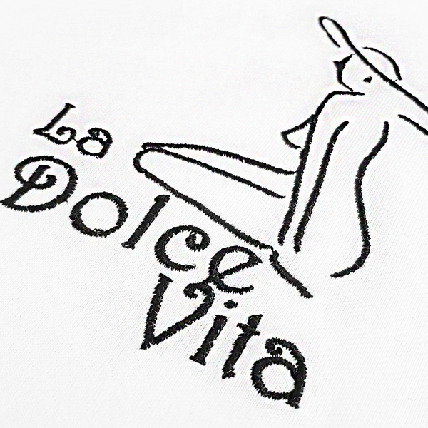 La Dolce Vita Girl T-Shirt White
