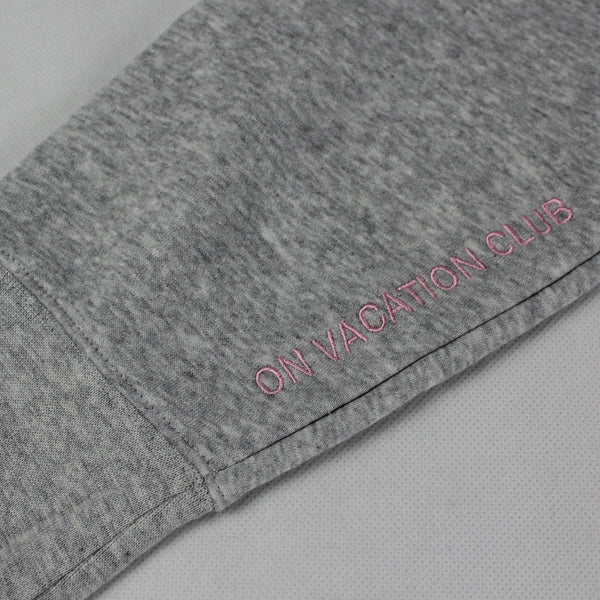 On Vacation Signature Sweater Grey