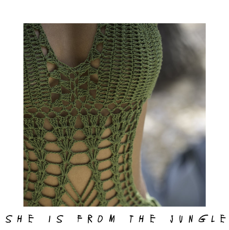 She Is From The Jungle - Coachella Swimsuit