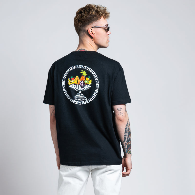 Fruit Basket T-Shirt - Black