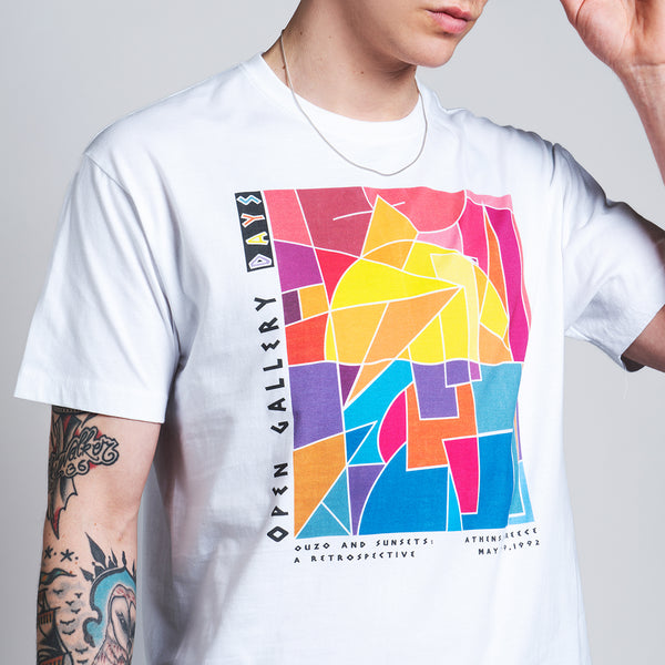 Gallery Weekend T-Shirt - White