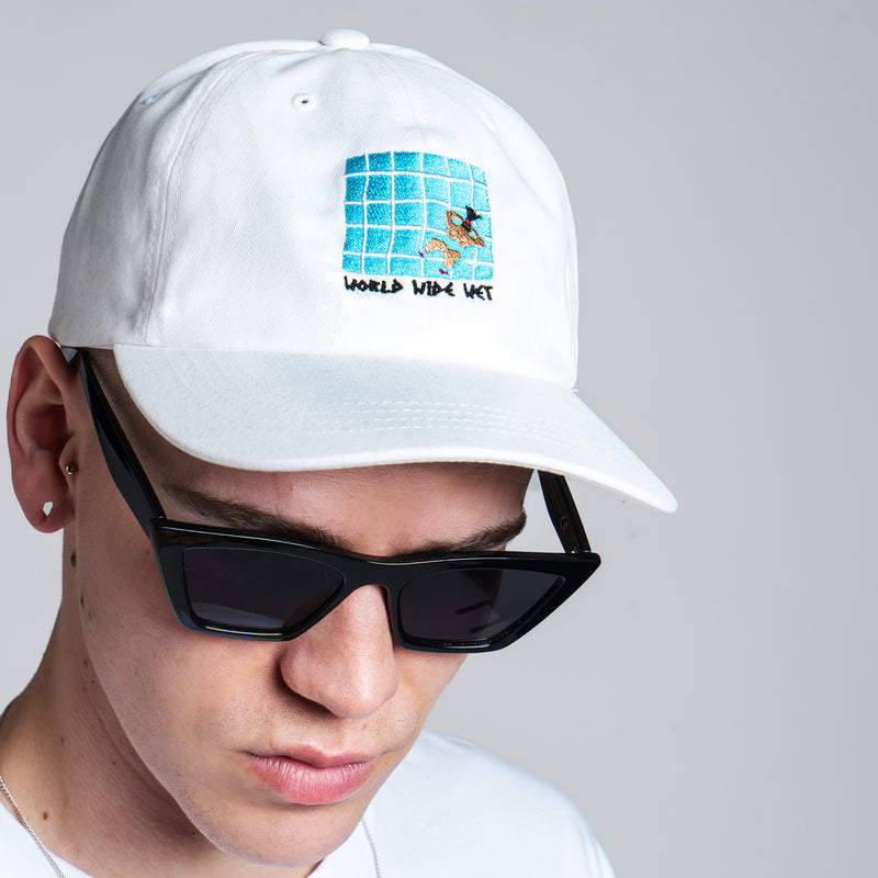 World Wide Wet Cap - White