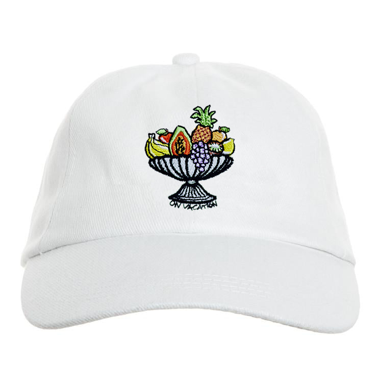Fruit Basket Cap - White