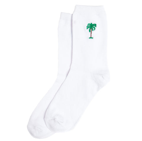 On Vacation Palms Socks