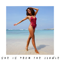 She Is From The Jungle - Maria Bonita Swimsuit