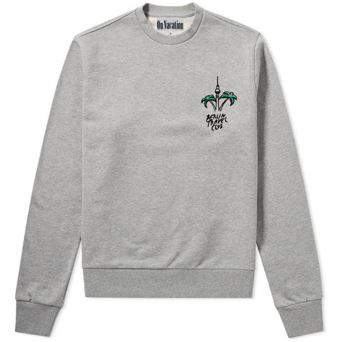 Berlin Travel Club Sweater Grey