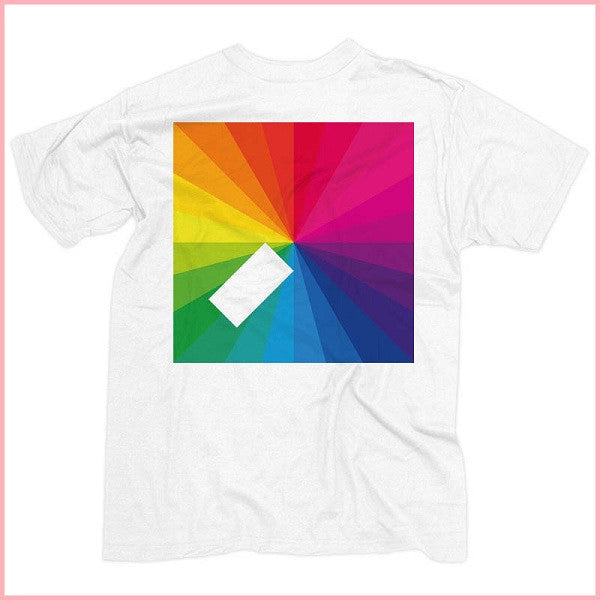 White In Colour Album Cover T-Shirt
