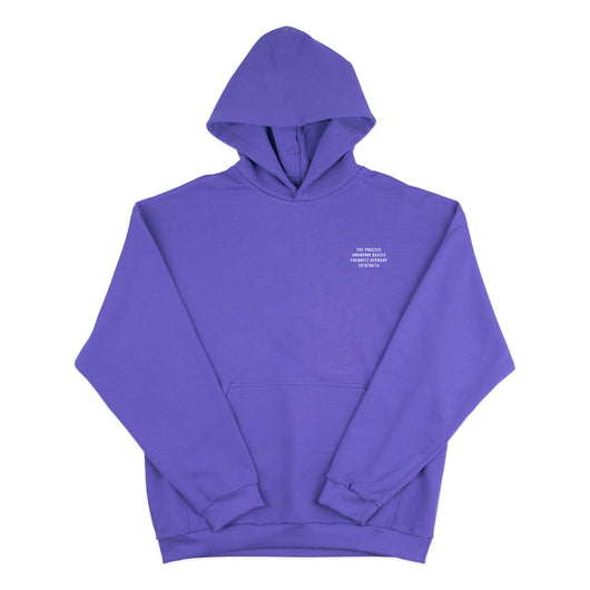THE PROCESS Hoodie Purple
