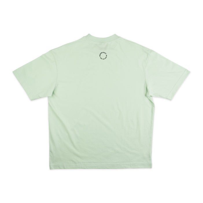 NO DAYS OFF Neck Shirt Lime