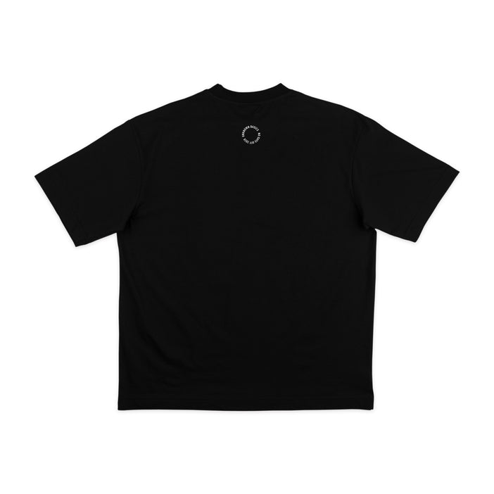 NO DAYS OFF Neck Shirt Black
