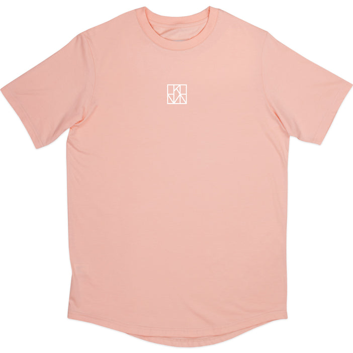 LOGO SHIRT PEACH