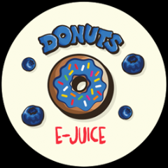 Donuts Blueberry - 60ML