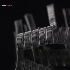 DNA Coils - Staple Staggered Fused Claptons