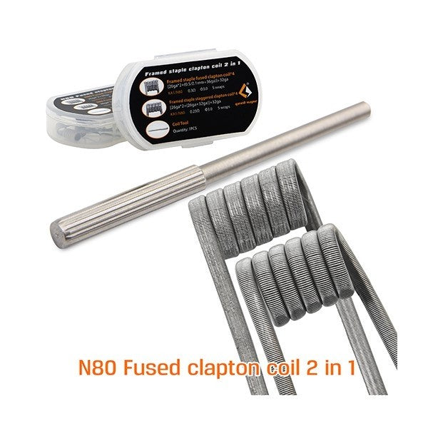 Geekvape N80 Fused Clapton Coil 2-in-1