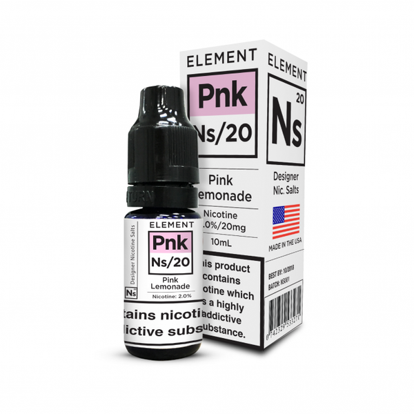 20ML Element Designer Nicotine Salts Pink Lemonade