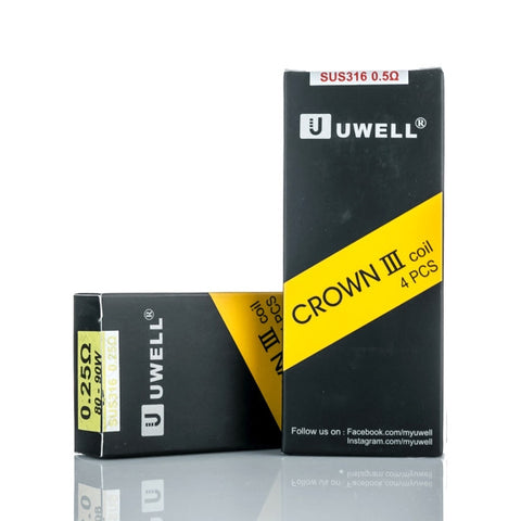 Crown III Replacement Coils