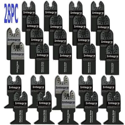 28PC for Fein Bosch Dremel DeWalt Makita Ryobi Multi tool Oscillating Saw Blades
