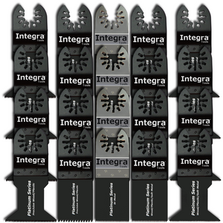 Integra® Tools Platinum Blades™ 20 Oscillating Multi Tool Saw Blades (20-Items)