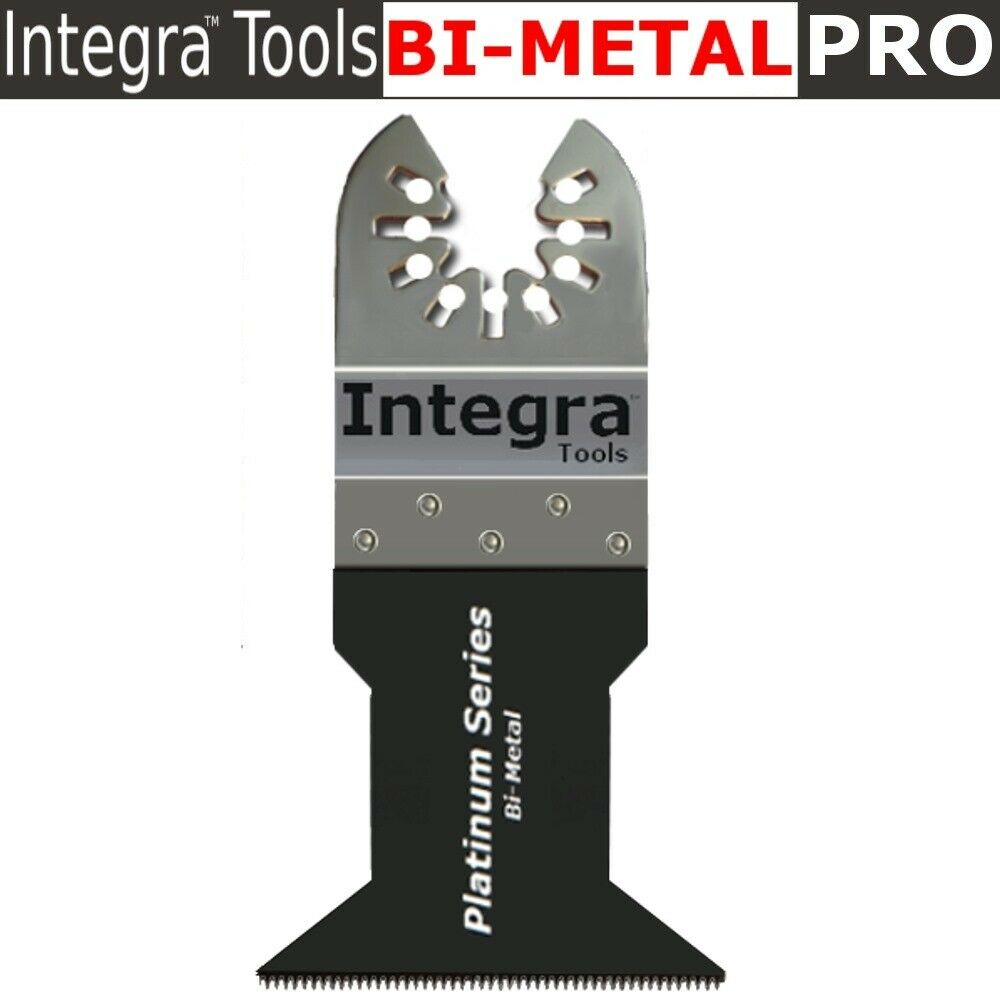INTEGRA® Platinum Blades QFM187 Oscillating Multitool Blade Bundle (15-Items)