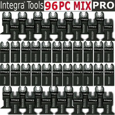 96 PC Oscillating MultiTool Saw Blades Fits FEIN MULTIMASTER BOSCH DREMEL RIDGID