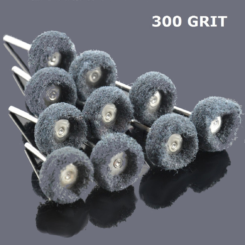 "200 PC 1"" (25mm) Abrasive Wheel Buffing Polishing Wheels fits DREMEL Rotary Tools - Platinum Supply PRO L.L.C."