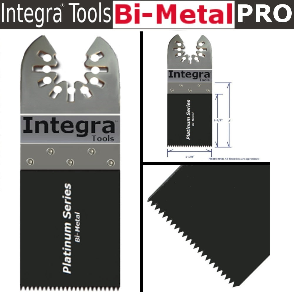 INTEGRA 42Pc Oscillating Multi Tool Saw Blade For Fein Multimaster BOSCH Dremel Makitaaster Bosch Dremel